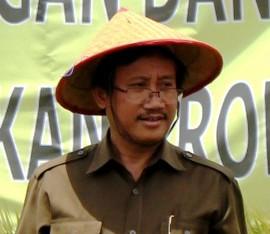 ... Pertanian, Dr Haryono (kanan berkacamata) Foto: tribunnews.com