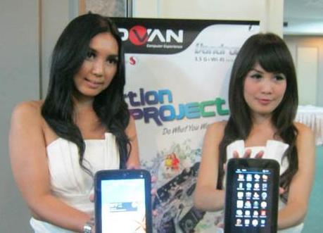 Advan Luncurkan Tablet 8 Inch dengan Harga Sejutaan