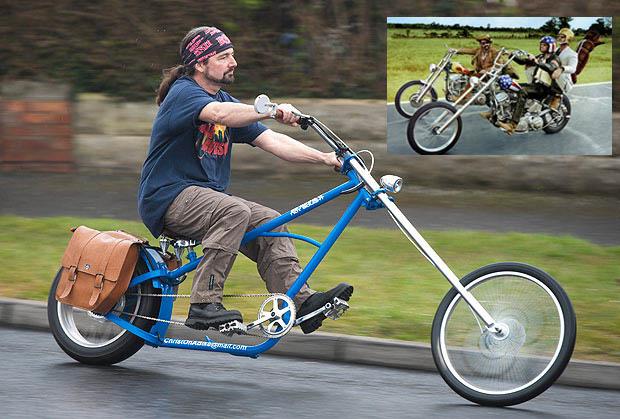 Sepeda yang Diilhami Motor Harley Davidson di Film `Easy