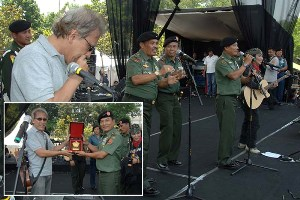 TNI Raih Rekor MURI, Buat 10,3 Juta Lubang Biopori