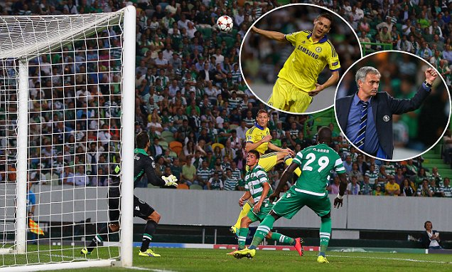 Terry Tampil 100 Kali di Liga Champions, Chelsea Gilas Sporting Lisbon 1-0