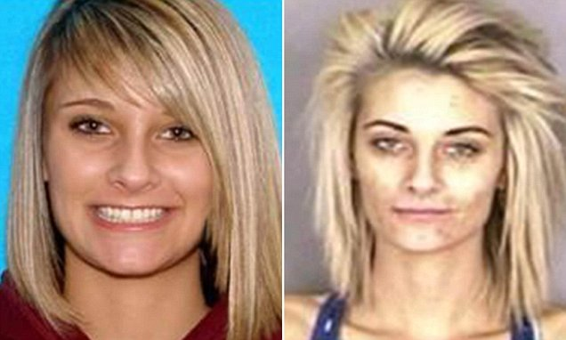 Pictures of an Oregon Beauty Queen Who Turned Into a Drug Addict
