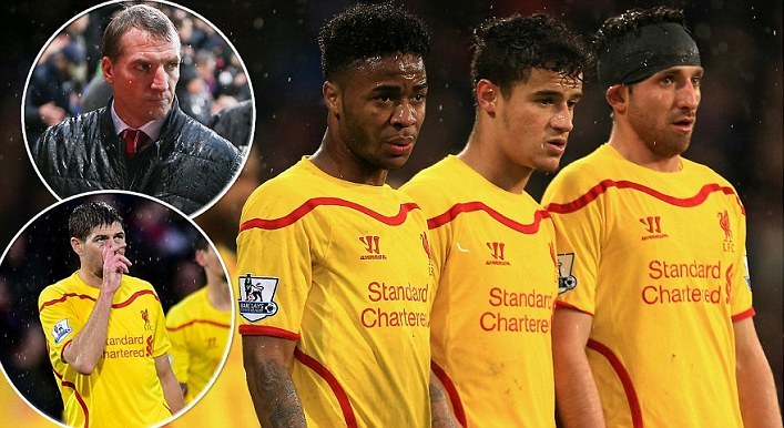 Rodgers Admits His Position is Under Threat after Liverpool Lost 3-1 to Crystal Palace?