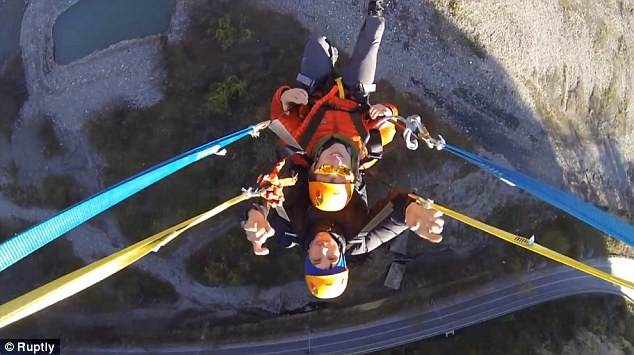 World`s Highest Swing Opens Sending Daredevils Flying 1,640ft