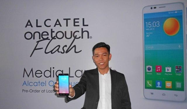 Alcatel One Touch Flash, Produk Andalan Kolaborasi Alcatel dan Lazada