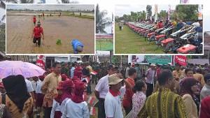 Bantuan Traktor Tangan untuk Petani Soppeng dan Bone