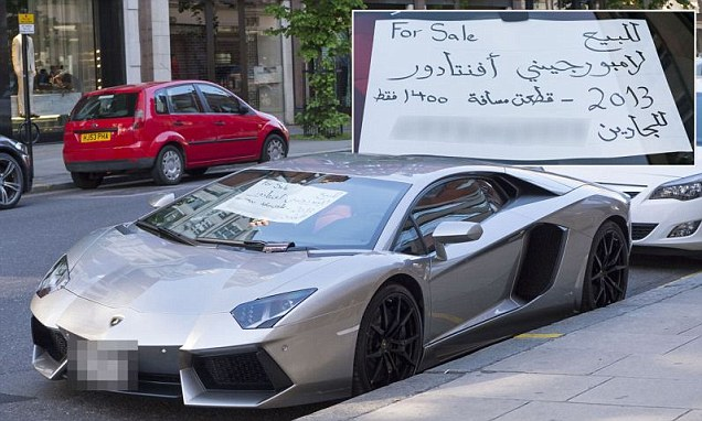 Lamborghini For Sale >> Lamborghini Aventador Dijual Di Tepi Jalan Dengan Iklan