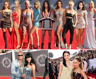 MTV Video Music Awards jadi Ajang Umbar Aurat
