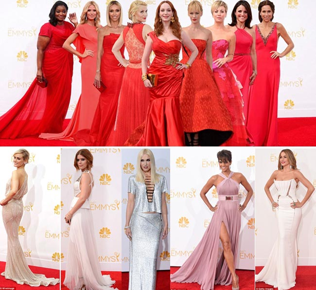 Pesona Selebriti Hollywood di Ajang Emmy Awards 2014
