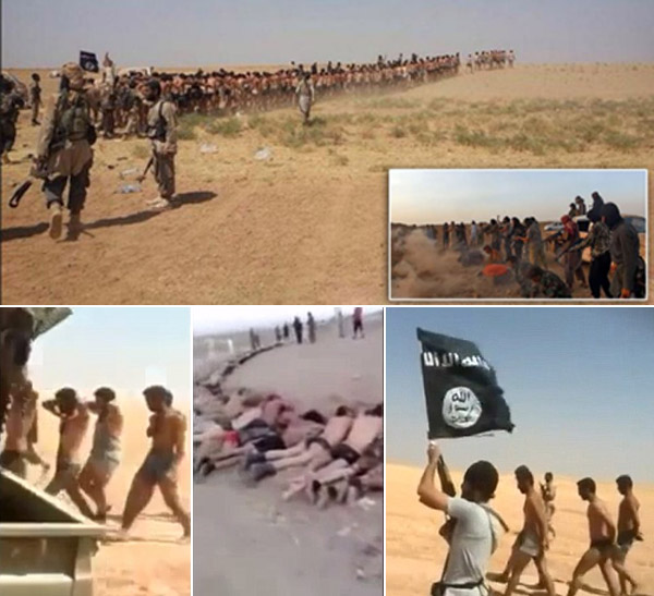 ISIS Slaughter 250 Soldiers Captured at Syrian Airbase?