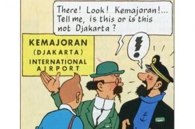 Tintin Di Pulau Komodo Tandai Persahabatan 65 Tahun Ri Belgia