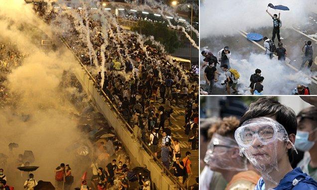 Hong Kong Memanas Tuntut Demokrasi dari China