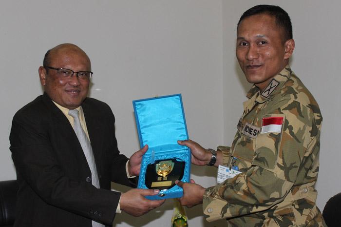 Berita Foto Prajurit TNI di Sudan, Afrika Tengah dan Papua