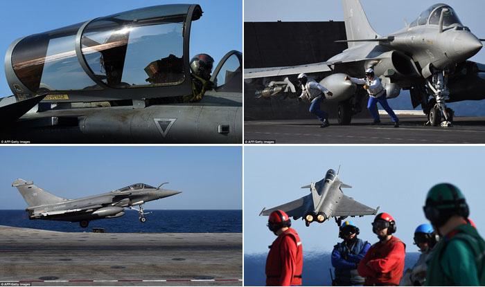 Prancis Lancarkan Serangan Udara ke Target ISIS di Suriah, Ini Berita Fotonya