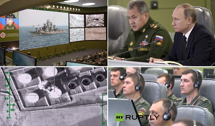 `War Room` di Moskow, Putin Kontrol Serangan Rusia ke Markas ISIS