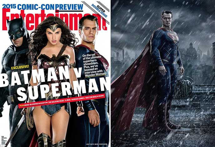 Batman V Superman, Gal Gadot sebagai Wonder Woman