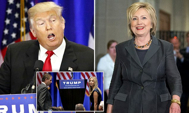 Trump`s All-out Attack on Clinton as He Savages her on the Economy, Foreign Policy