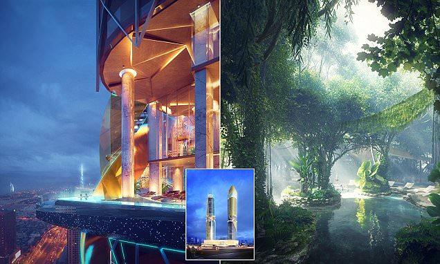 Hotel Pertama di Dunia dengan Hutan Tropis Buatan