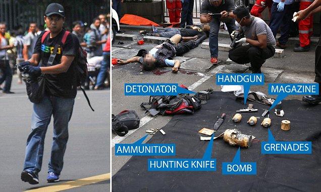Media Asing Soroti Peralatan Bunuh Diri Pelaku Teror Bom Sarinah