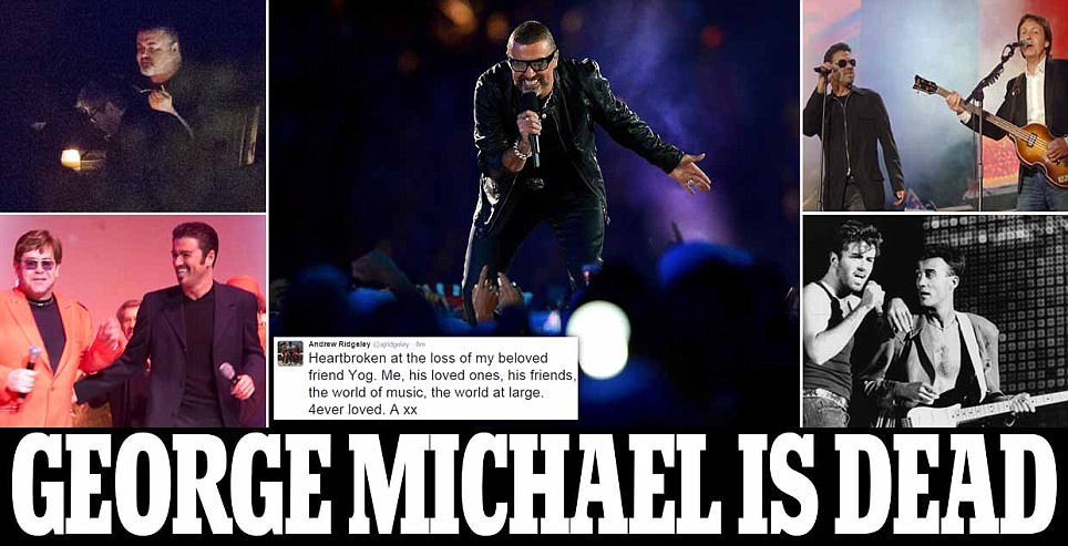 George Michael Pelantun `Careless Whisper` Meninggal Dunia Usia 53