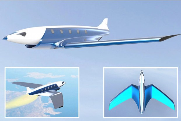 Around the World in 90 Minutes: Superfast Plane Could Fly from London to NY in 20 Minutes
