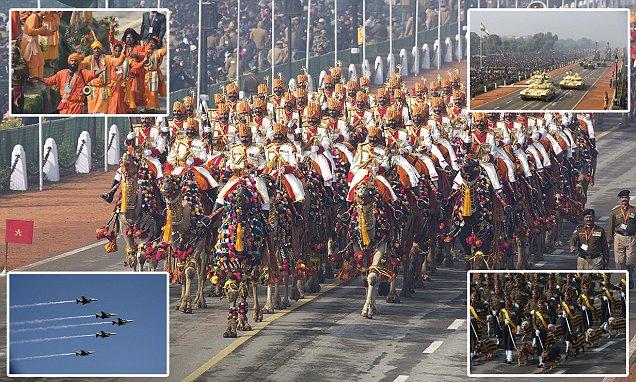 Parade Kekuatan Militer India dalam Foto