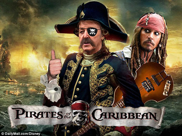 Film Pirates Of The Caribbean Sekuel Ke-5 Didukung Paul McCartney