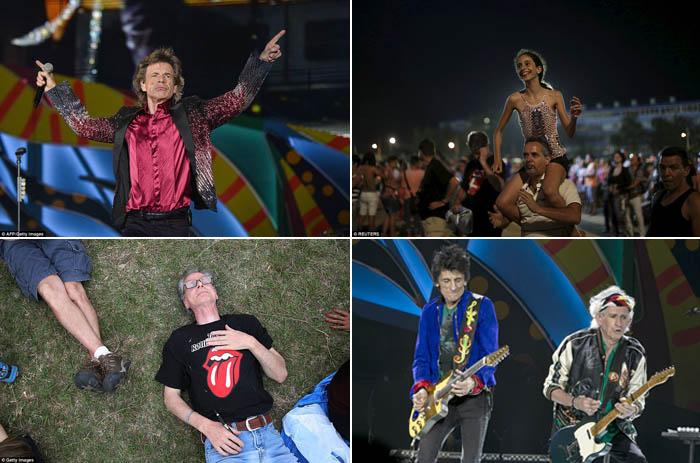 Mick Jagger dkk Goyang Havana dalam Berita Foto