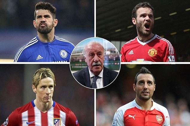 Costa, Mata, Torres, Cazorla Tidak Masuk Skuad Spanyol ke ...