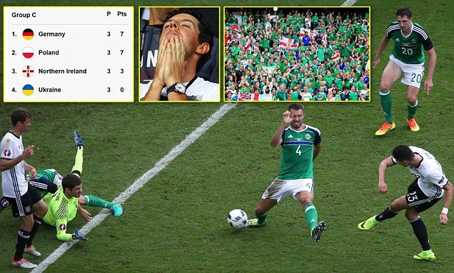 Northern Ireland were Better than Brazil Against the World Champions, Germany?