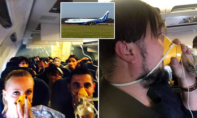 Passengers were Forced to Wear Oxygen Masks  after Plane`s Cabin Suddenly Lost Pressure