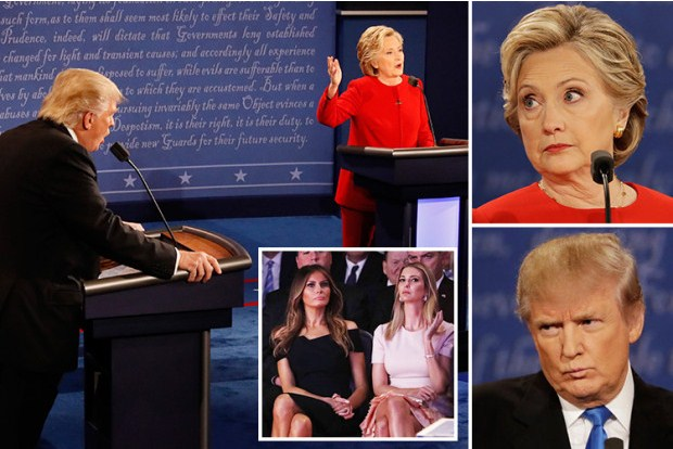 Hillary Clinton Tuding Donald Trump Rasis dan Anti Kesetaraan Gender
