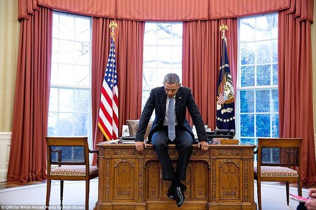 Presiden Obama 8 Tahun di Gedung Putih, Ini Foto-fotonya