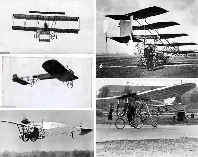 Pesawat dan Pilot Pertama di Dunia setelah Dirintis Wright Bersaudara