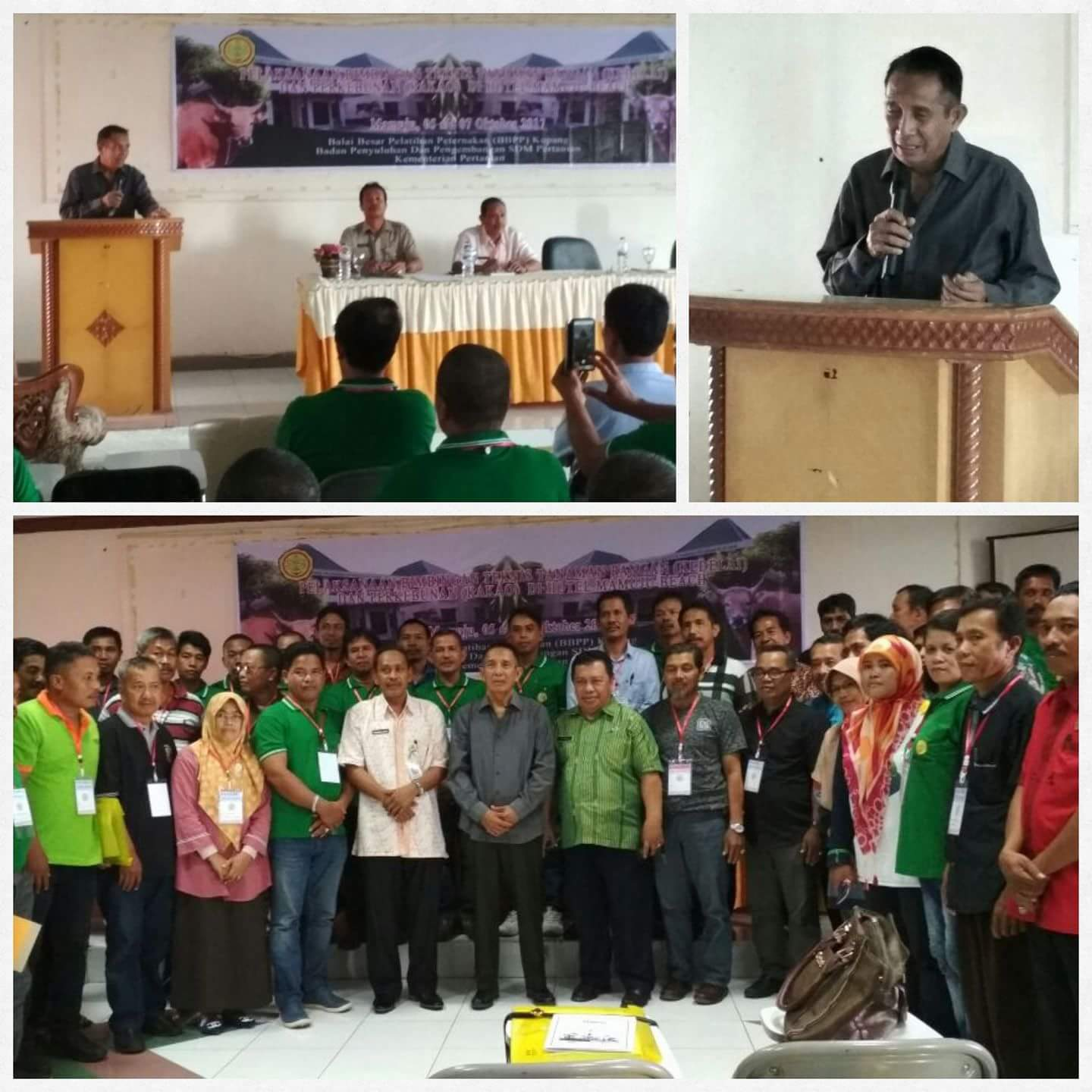Indonesia Govt Support Training for Sulawesi`s Cocoa Farmers