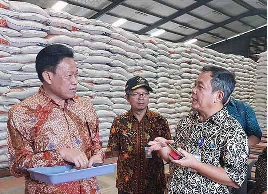 Foto-foto Kunjungan Ketua Upsus Pajale Jateng ke Tegal
