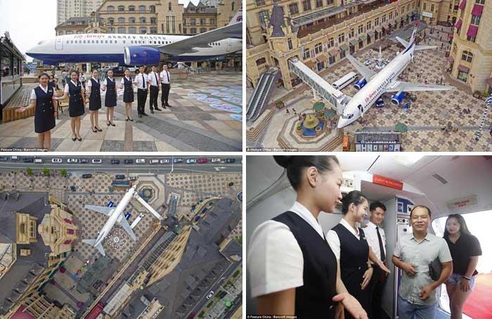 Boeing 737 jadi Restoran Mewah di China, Ini Foto-fotonya