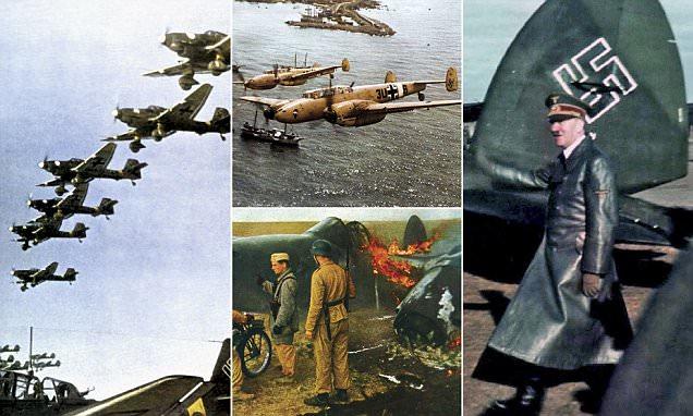 Foto-foto Langka Ungkap Jatuh Bangunnya Skuadron Tempur Nazi Jerman
