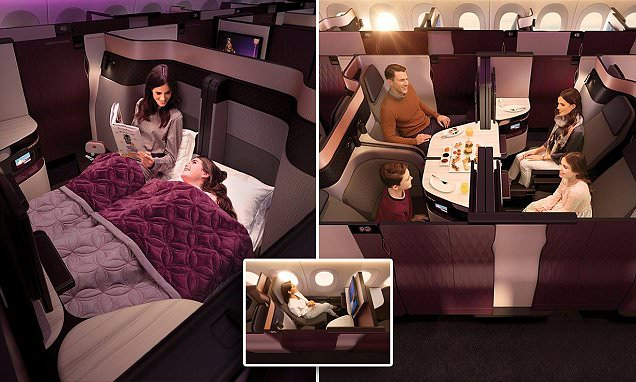 Qatar Airways Launches First-ever Double Bed in Business Class?