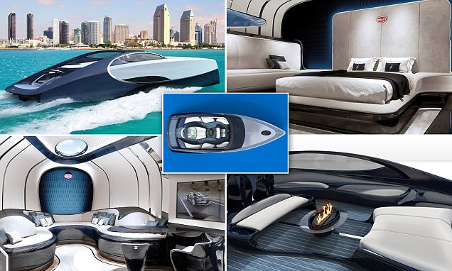 Bugatti of the Sea: Luxury Supercar Brand Launches a Matching Two-person Yacht