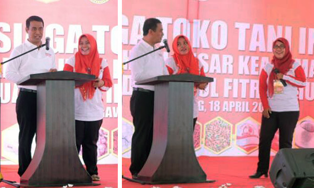 Interesting Story of Indonesia`s Agriculture Minister with Pregnant Women