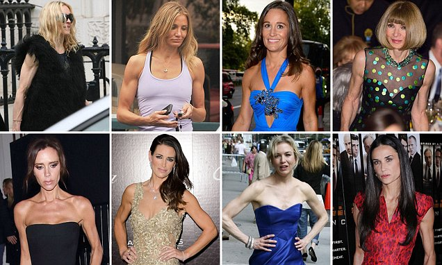 The Sinewy Sisterhood: From Posh to Pippa, the Rise of the Gym-mad Stars