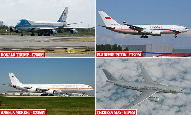 Inside the Pricey Private Jets of the World`s Most Powerful Leaders