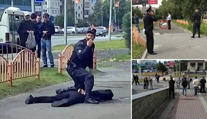 Knife Rampage in Russia: Eight People are Stabbed before Police Shoot Dead Attacker