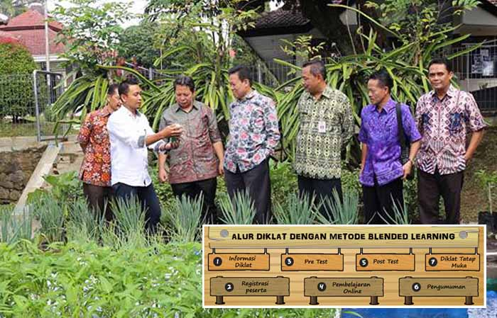 109 Participants of Blended Learning in Indonesian`s Agriculture Training Center