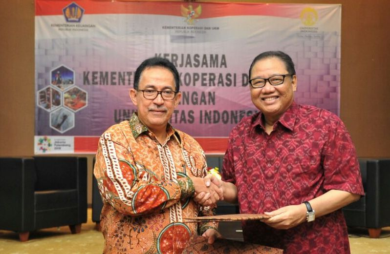 University of Indonesia Supports Development of Cooperatives and SMEs