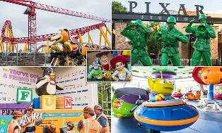 Never-before-seen Pictures Emerge of Disney`s New Toy Story Land