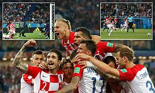 Modric`s Penalty for Croatia as They See Off Nigeria to go Top of Group D