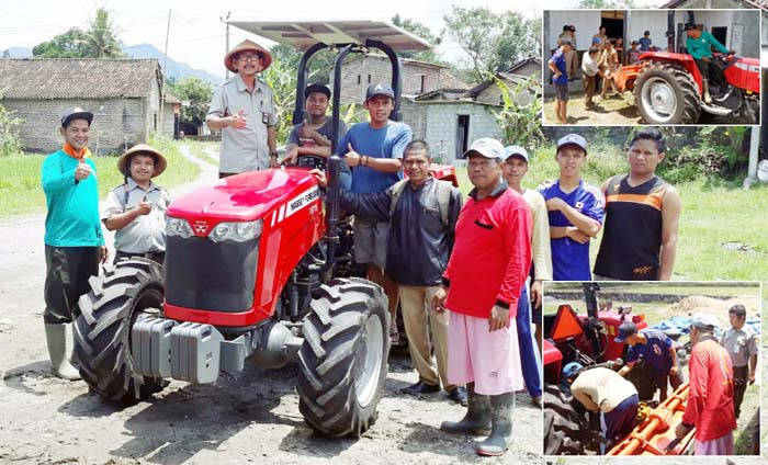 Indonesian`s Rental Agricultural Machinery is Managed by Young People
