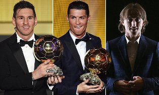 Modric should become First Ballon d`Or Winner since 2008 who isn`t Ronaldo or Messi?